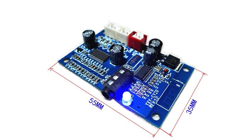 Unterstützung L2cap/a2dp avctp/avdtp/avcrp 7,5 V-16 V Drahtlose Bluetooth Stereo Audio Erhalt Decoder Board Mit 15 Watt * 2 Verstärker 100% Original