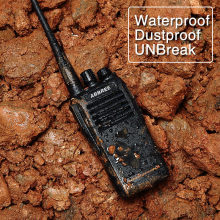 ABBREE AR-W300 IP67 Waterproof Dustproof UHF 400-480MHz 2200mAh CTCSS/DCS DTMF VOX Function Walkie Talkie Professional Radio(China)