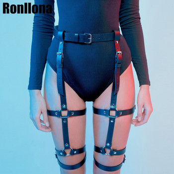 цена Harness Garter Belt Erotic Goth Lingerie Cage Suspender Belt Bondage Harness Gothic Punk Style Garter Fetish Leg Stocking Belt онлайн в 2017 году
