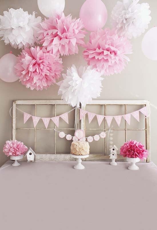 Vinyl Pink Bed Headboard Wedding Baby Newborn Children Photo Background Photography for photo studio