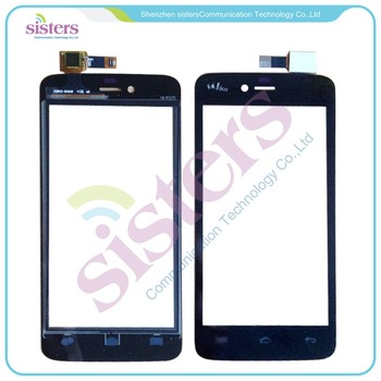 10pcs/lot Wholesale High quality Touch screen Digitizer front glass replacement For Wiko Birdy Free Shipping