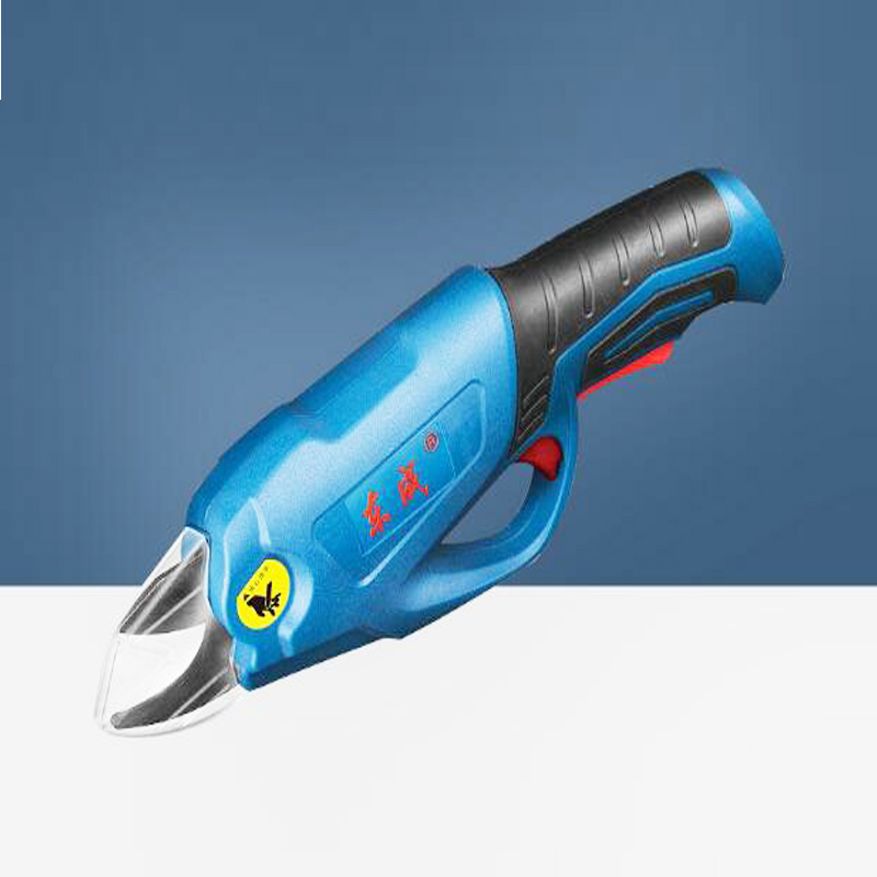 4V/2.0Ah Rechargeable Electric Cordless Secateur Branch Cutter Pruning Shears for Sharp Cutting Tool to Fruit Garden