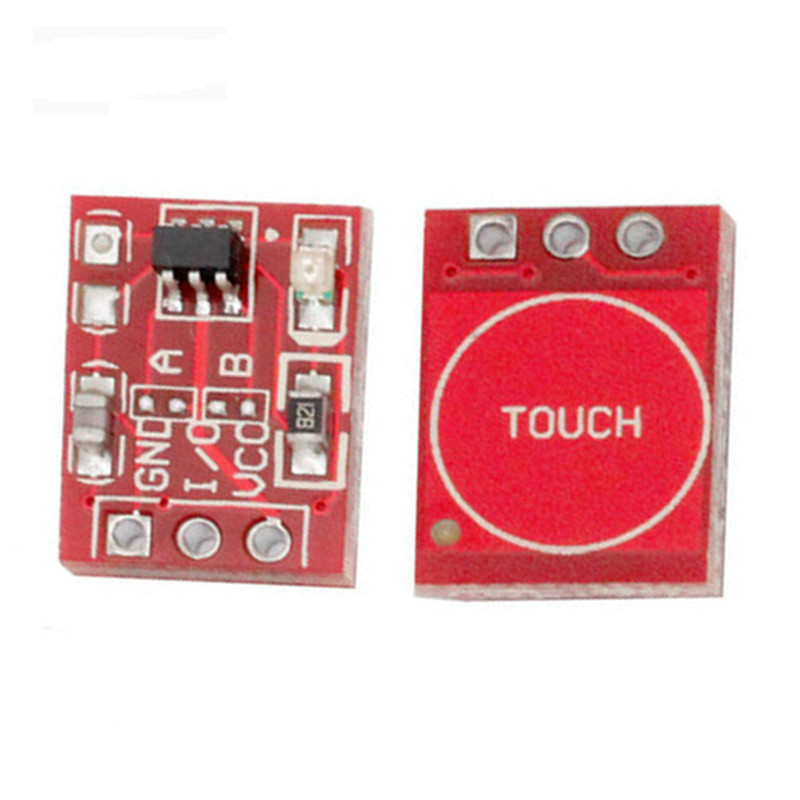 10pcs TTP223 Touch Key Switch Module Touching Button Self-Locking/No-Locking Capacitive Switches Single Channel DIY Starter Kit 100pcs ttp223 ttp223 ba6 sot23 6 touch keys ic