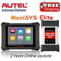 AUTEL MaxiSys Elite Car Diagnosis J2534 ECU Programing Tool Faster Than MS908p 908 Pro Free Update