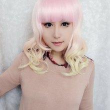 MCOSER 55 см длинные kawaill Лолита Мода конфеты многоцветные красивые Лолита парик Аниме парик
