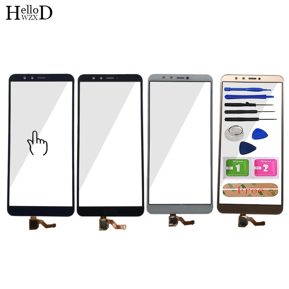 Mobile Touch Screen For Huawei Y9 2018 / Enjoy 8 Plus Touch Screen Front Glass Digitizer Panel TouchScreen Lens Sensor Tools