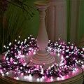 VNL Outdoor 8 mt 400 LED String Lichter Veränderbar für Rosa Weihnachten Girlande Cafe Party Hochzeit Dekoration Weihnachten Fee Lichter-in Lichterketten aus Licht & Beleuchtung bei