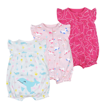 Sweet Baby Girl Romper Summer Kids Clothing Newborn Pajamas Fashion Unicorn Orangemom Toddler Roupas Clothes Infant Jumpsuits