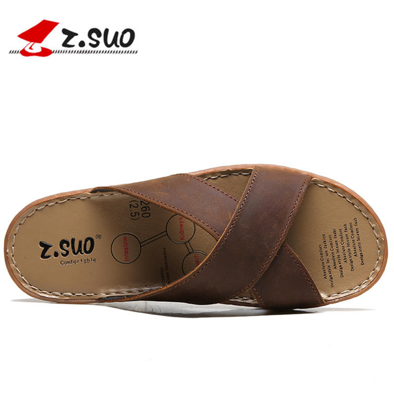 2018 Men Slippers New Lightweight Casual Sandals Summer Fashion Men Classic Flip Flops Hot Soft Beach Shoes ZT40