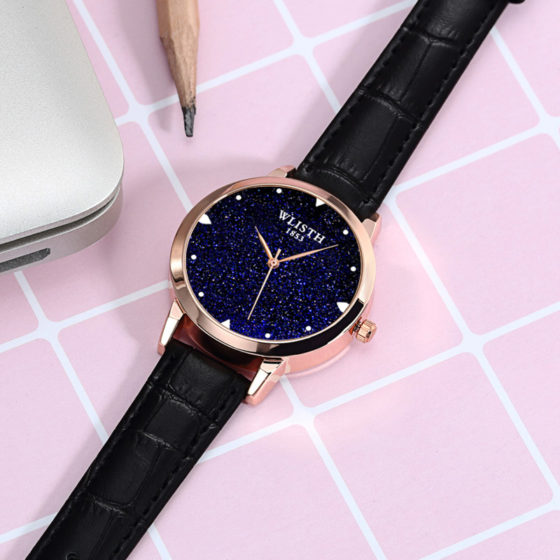 Luxury Starry Sky Women Watches Fashion Ladies Dress Wrist Watches Leather Style Waterproof Clock Female relogio Feminino 2018 6