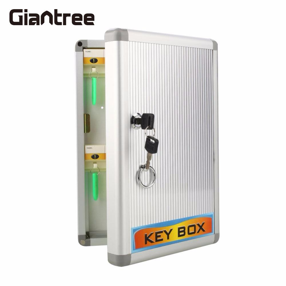 magic wooden box with extra secure secret drawer giantree Digital Secure Safes Company Office Use Key Storage Keep Secret Organizer Box Security Lock Cabinet Cash Lock