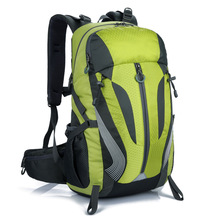 Outdoor Camping Hiking Backpack 40L Waterproof Anti-tear Nylon Quality Bag Unisex Climbing Travel Cycling Sports Backpack