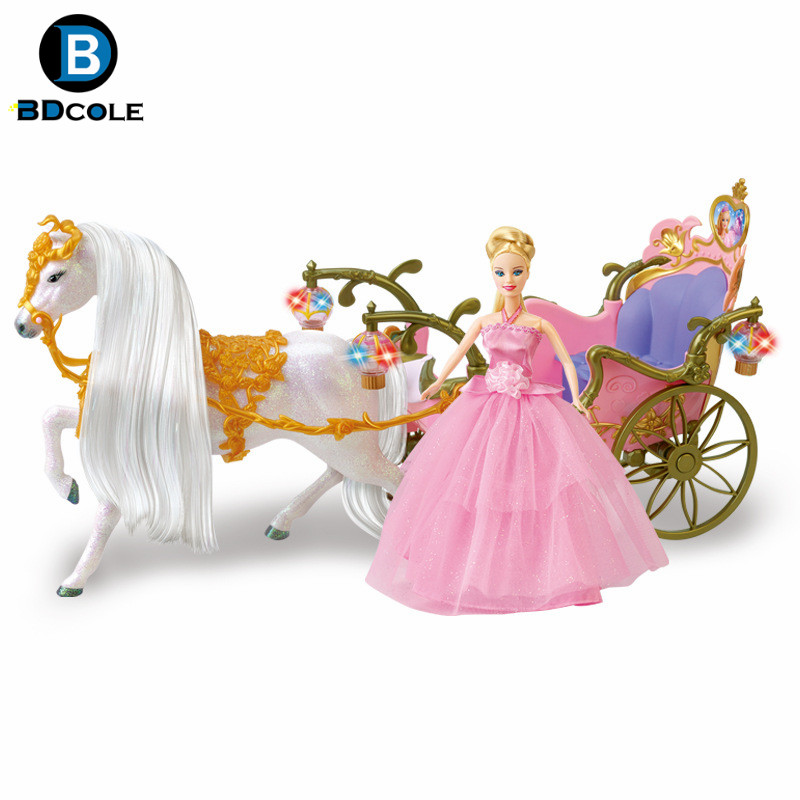 Free Shipping Bdcole Rs Battery Powered Walking Horse