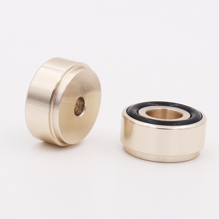 20*10mm Mini Solid Aluminum Speaker Cabinet Isolation Feet Dac Cd Turntable Amp Pad Floor Stand Base Golden Anodized 4pcs Electrical Sockets & Plugs Adaptors Accessories & Parts