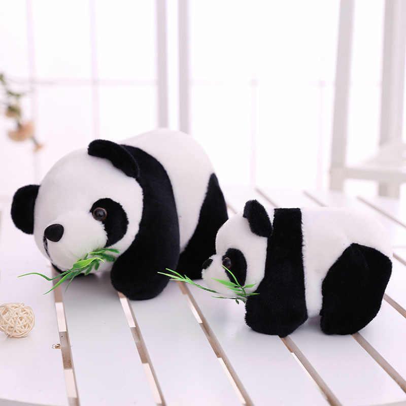 子供のおもちゃ 16 センチメートル素敵なかわいいぬいぐるみ動物ソフトぬいぐるみパンダ竹子供プレゼント人形おもちゃの誕生日クリスマスギフト
