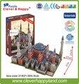 Умный и счастливую land 3d-пазл модель Hagia софии бумага пазл своими руками модель пазл игрушка игры для дети бумага
