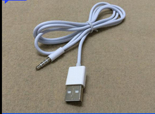 Usb al convertidor de longitud de cable aux 1 metros aux 3.5mm frecuencia de audio del coche aux usb línea cargador de coche gratis gratis