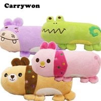 CARRYWON Pet Dog Puppy Chew Toys Anti Bite Squeaker Squeaky Plush Sound Animal Pillow Designs Pets