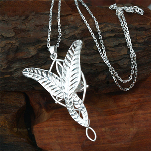 Image 5 - LOTR Arwen Evenstar S925 Sliver Pendant Necklace Elf Nekclace Sliver Jewelry New Year Valentines Day Gifts For Women Girls
