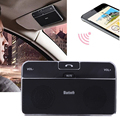2016 Bluetooth 4.0 EDR In-Car Speakerphone Sun Visor Shade Wireless Handsfree Car Kit Music Receiver+Car Charger Retail Box