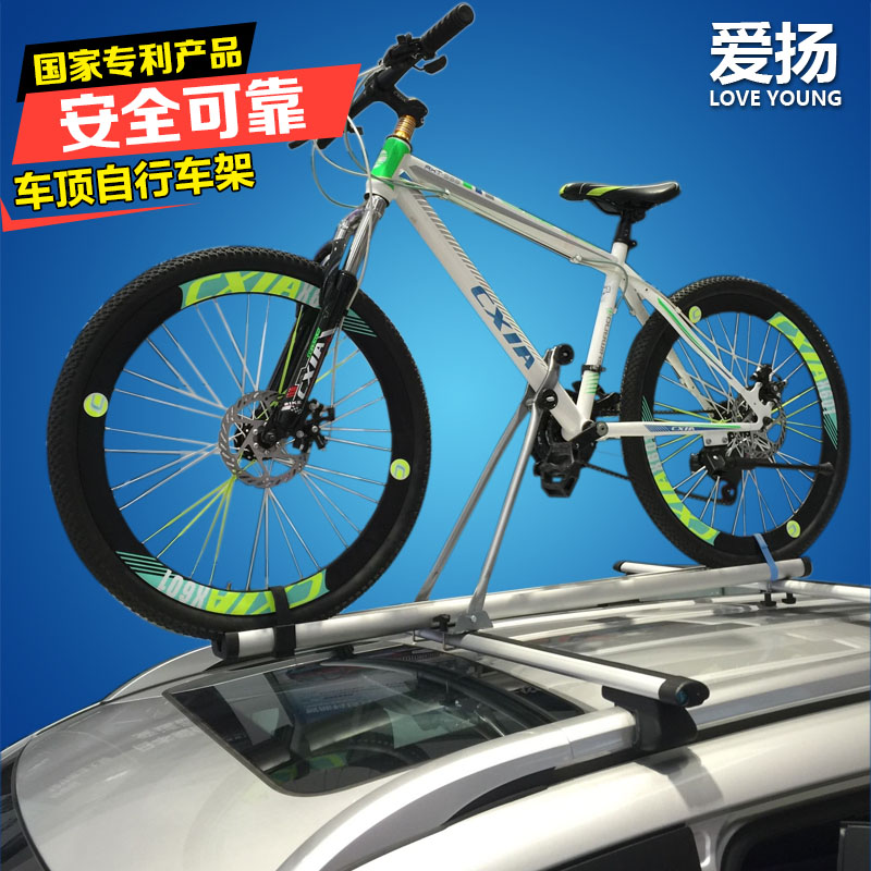Bicycle Rack Suction Roof Top Bike Car Racks Carrier Quick