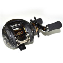 Fishdrops Lb200 Double Brake System 18BB Baitcasting Reel 7.0:1 Reel Left Right Hand Saltwater Bait Casting Reel Fishing Reels