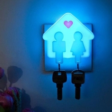 Hot  fashion creative home Nightlight The smart light control sensor lights to beautify their homes