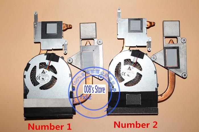New CPU Cooler Fan Heatsink For LENOVO IDEAPAD Z570 V570 B570 KSB0605HC AH72 DC05V 0.45A Laptop Radiator 60.4IH18.003