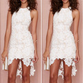 Lace Short Cocktail Dresses With Beaded 2016 High Quality Women Wedding Party Gowns Fast Shipping Vestidos