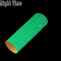 Зеленый и синий цвет на выбор люминесцентный светится в темноте Автомобиля Обертывание Винил выпуска воздуха Film1.52x5M