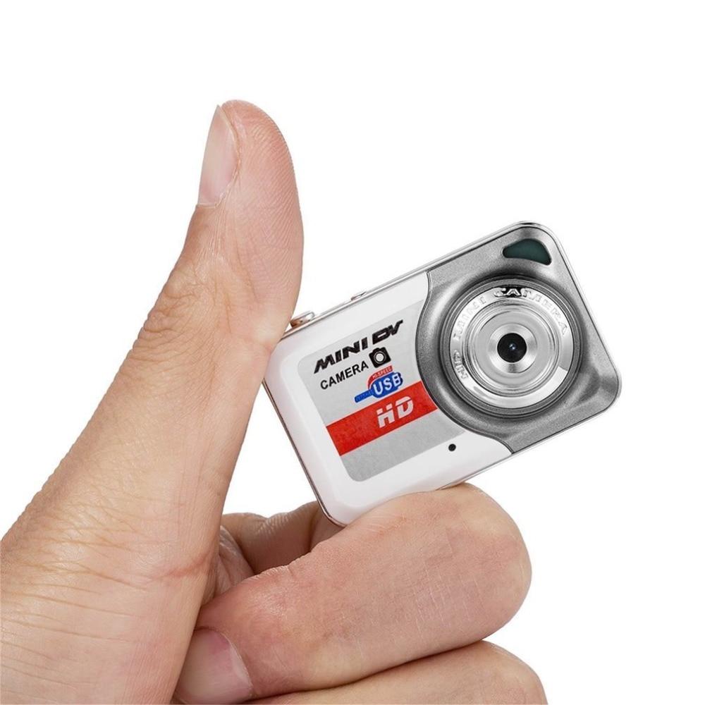 HD Ultra Portable 1280*1024 Mini Camera X6 Video Recorder Digital Small Cam Support TF Card Micro Secure Digital Memory Card