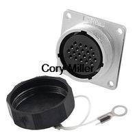 사각 패널 28mm베이스 20 핀 항공 커넥터 플러그 AC 400V|plug connector|plug rabbitplug in door bell -