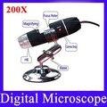 Melhor câmera microscópio digital USB Microscópio Digital 200X microscópio barato óptico da câmera microscópio composto