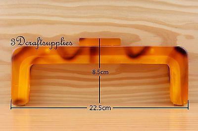 Purse frame 8 1/2 inch x 3 3/5 inch ( 22.5 cm x 8.5cm ) Acrylic Resin M56H