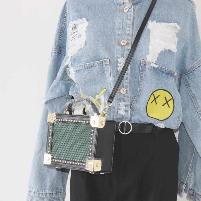 VALENMISA 2018 Genuine Leather Box Bag Luxury Handbags Women Bags Designer Women Messenger Bag Ladies Shoulder Makeup Bags цена и фото