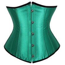 c2c7d2c2403 Gothic Underbust Corset and Waist Cincher Bustiers Top Workout Shape Body  Belt Plus Size Lingerie Corsets