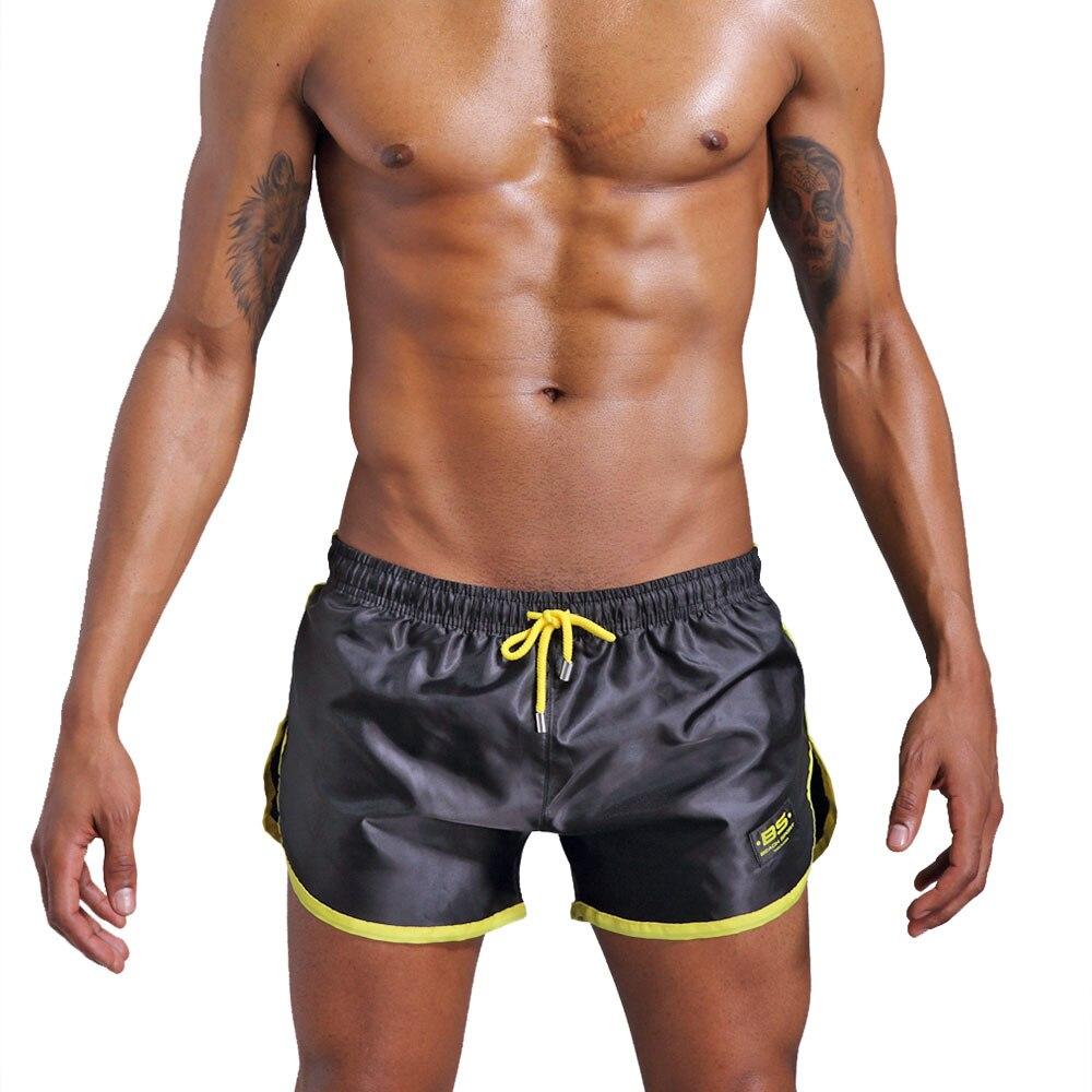 Men Beach Casual Shorts Gym Sports Running Swimwear Beachwear Short Pants New