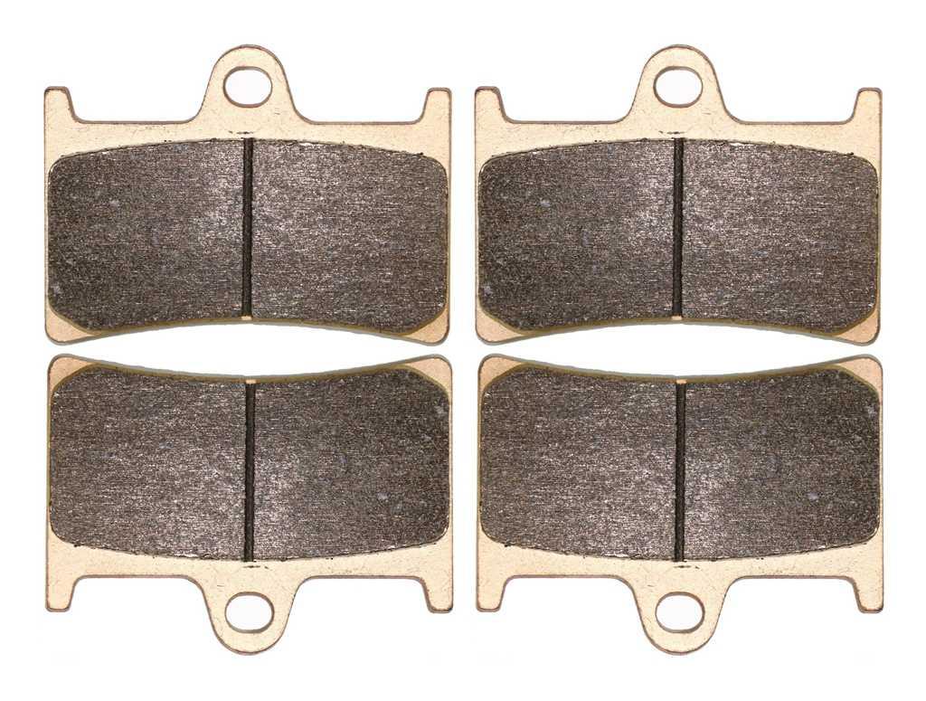 Набор тормозных колодок для YAMAHA Street FZS1000 FZS 1000 Fazer 2001 2002 2003 2004 2005 Передняя и задняя| |