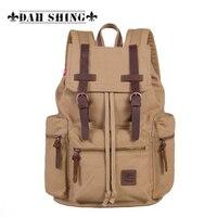 Большая емкость холст рюкзак женщины рюкзак мужские дорожные сумки Школьные сумки Mochilas 16 Сумка для ноутбука 2 размера