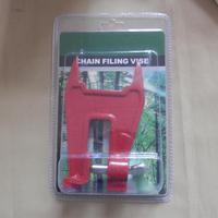 그루터기 바이스 전문 전기 톱 체인 톱 선명 파일 도구 바 클램