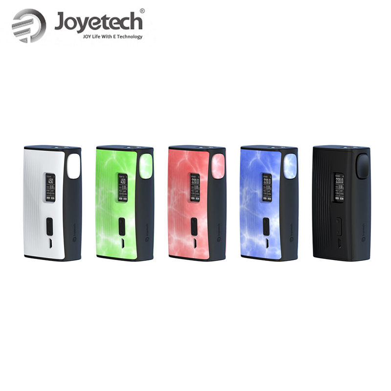 Original 220W Joyetech ESPION Tour Box Mod Battery Powered by dual 18650(not included) Electronic Cigarette mod box