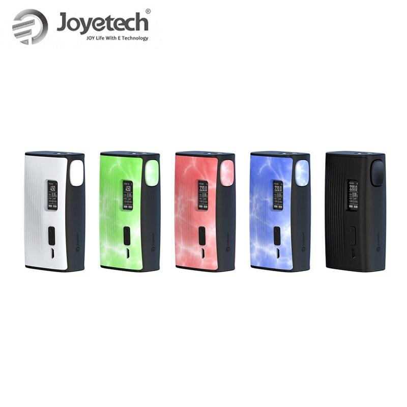 Original 220W Joyetech ESPION Tour Box Mod batterie alimentée par double 18650 (non inclus) Cigarette électronique mod box