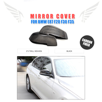 Carbon Fiber Side Mirror Covers for BMW E87 F20 F30 F35 2011UP Auto mirror caps Car Styling