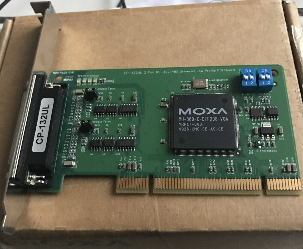 [BELLA]MOXA CP-132UL 2 port RS-422/485 multiple serial port card