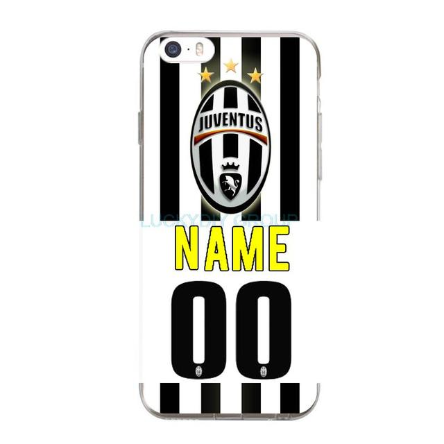 the latest 512bc f1d40 US $4.99  DIY Juventus Football Club Jersey Name and Numbers Tpu Case For  iphone 7 7 plus 6s 5 5S SE 4S slim silicone TPU phone Case on  Aliexpress.com ...