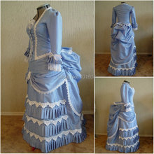 Victorian Corset Gothic/Civil War Southern Belle Ball Gown Dress Halloween dresses  US 4-16 V-1426