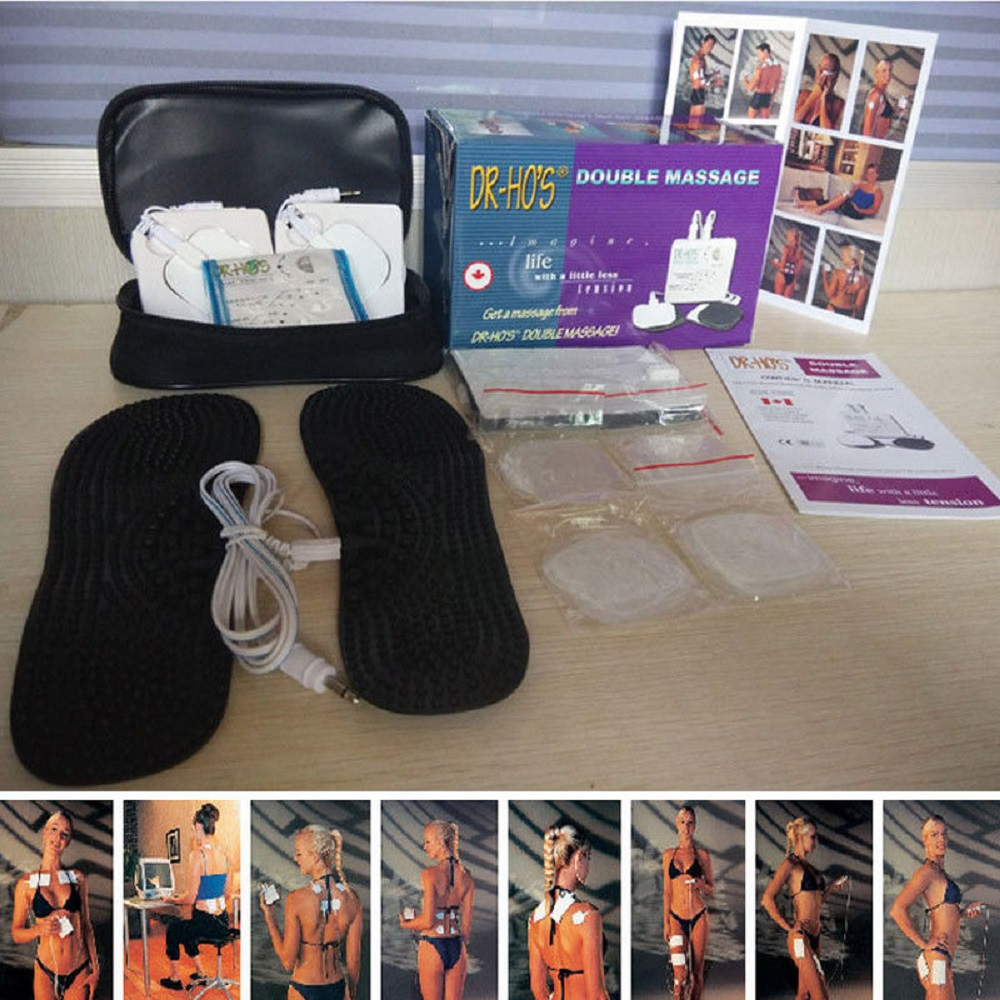 Dr. Hos Pain Therapy System 4 Pad T.E.N.S Device Muscle