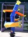 Бесплатная доставка + Вентилятор Горячие продажи рекламы Надувные танцор воздуха/раздувной танцор неба с воздуходувки