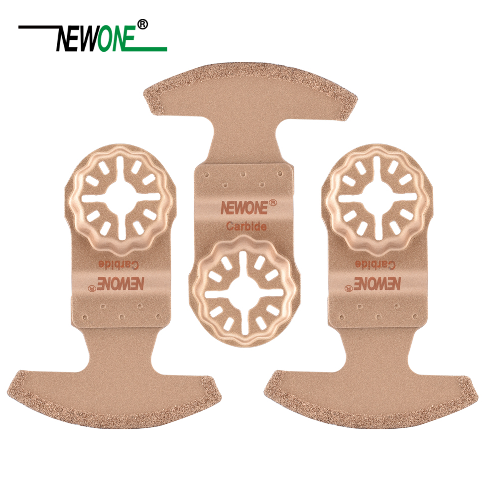 NEWONE Starlock Carbide Segmented Oscillating Tool Saw Blades Power Multi-function Tool Saw Blade For Cut Tile Ceramic Work