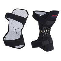 knee pads Joint Support Patella Strap Power Breathable Non slip Lift Spring Force Knee Booster Tendon Brace Band Pad For Arthrit